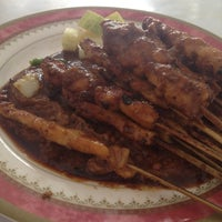 Photo taken at Sate Kambing & Sate Ayam Jaya Agung by Phuture89 P. on 3/11/2012