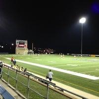 Photo taken at Joe Walton Stadium by Georgetown Bagelry on 9/1/2012