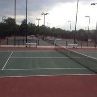 Photo taken at Gates Tennis Center by Carlos C. on 6/21/2012