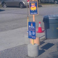 Photo taken at Megabus Bus Stop - South Side White Marsh Mall by JeRome B. on 7/11/2012