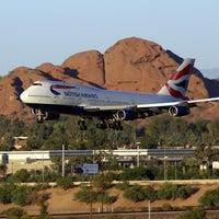 Photo taken at Phoenix Sky Harbor International Airport (PHX) by Tom M. on 7/28/2012