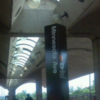 Photo taken at Minnesota Avenue Metro Station by Unforgettable I. on 5/8/2012