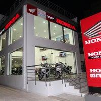 Photo taken at Honda Moto - Ν. ΜΑΚΡΗ  (MBS ΕΠΕ) by Babis K. on 2/13/2012