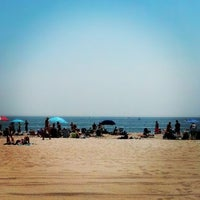 Photo taken at Manasquan Beach by Michele V. on 8/18/2012