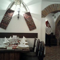 Photo taken at Restaurant Vatra by Anna P. on 3/14/2012