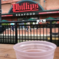 Photo taken at Phillips Seafood by John M. on 8/4/2012