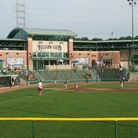 Photo taken at Helfaer Field by Beth on 7/21/2012