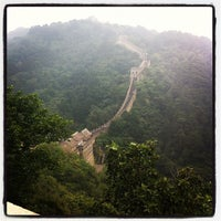 Photo taken at Great Wall at Mutianyu by Terence S. on 9/10/2012