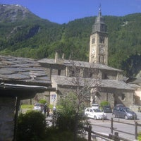 Photo taken at Stazione di morgex by Abdullah Y. on 6/10/2012