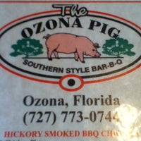 Photo taken at The Ozona Pig by Jennifer on 7/17/2012