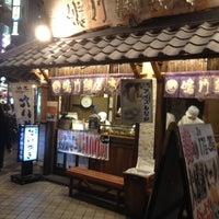 Photo taken at 鳴門 鯛焼本舗 阪急三宮駅前店 by Hirohide A. on 3/17/2012