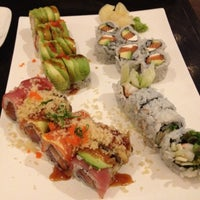 Photo taken at Iron Sushi by Annie W. on 4/14/2012