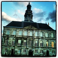 Photo taken at Gemeente Maastricht by Beeblebr0xx on 7/4/2012