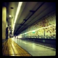 Photo taken at Meiji-jingumae 'Harajuku' Station by つか な. on 8/25/2012