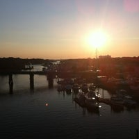 Photo taken at Great Neck Bridge by Becky R. on 8/16/2012
