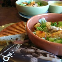Photo taken at Panera Bread by Ana G. on 7/24/2012