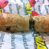 Photo taken at Subway by Vinicius T. on 3/12/2012