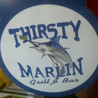 Photo taken at Thirsty Marlin Grill & Bar by TampaBayNightLife.TV G. on 8/7/2012