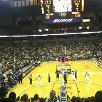 Photo taken at Mizzou Arena by Hannah S. on 2/22/2012