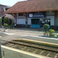 Photo taken at Stasiun Gedangan by Rizqiyah S. on 7/15/2012