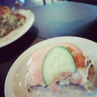 Photo taken at Levy's Bagels & Deli by Nick V. on 5/26/2012