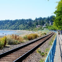 Photo taken at White Rock by James R. on 8/1/2012