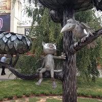 Photo taken at Памятник котенку by Алексей П. on 8/15/2012