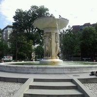 Photo taken at Dupont Circle by Mark H. on 6/2/2012