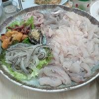 Photo taken at 주문진수산시장 by Alvin SeongJune L. on 6/2/2012