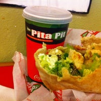 Photo taken at The Pita Pit by Dee S. on 3/20/2012