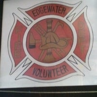 Photo taken at Edgewater Fire Dept #1 by Thomas L. on 8/25/2012