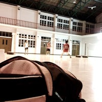 Photo taken at Badminton Club by Patcharee S. on 5/2/2012