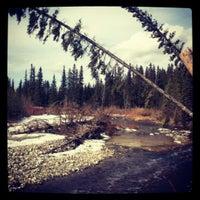 Photo taken at Fish Creek Park - Glennfield by Viktor L. on 3/11/2012