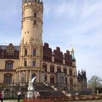 Photo taken at Schweriner Schloss by Lauren B. on 4/28/2012