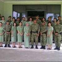 Photo taken at Lap. Brigif Linud 17 Cijantung by mirna s. on 5/20/2012