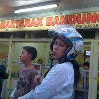 Photo taken at Martabak Bandung by Arpan A. on 7/21/2012