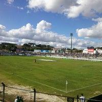 Photo taken at Estádio Germano Krüger by Karison P. on 4/15/2012