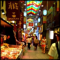 Photo taken at Nishiki Market by Ayumi T. on 7/22/2012