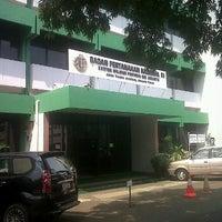 Photo taken at Kantor Wilayah BPN DKI Jakarta by Ade M. on 5/14/2012