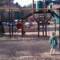 Photo taken at Manitou Springs Memorial Park by Michelle B. on 3/11/2012