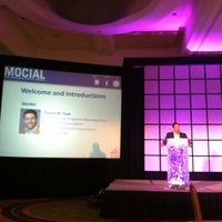 Photo taken at ICSC MOCIAL Conference by Angela S. on 9/6/2012