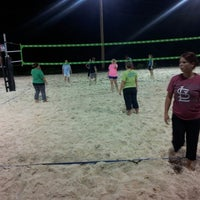 Photo taken at VFW Sand Volleyball by Tony B. on 8/17/2012