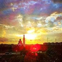 Photo taken at Парк Строителей by Dima T. on 9/3/2012