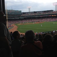 Photo taken at Left Field Grandstand by Reggie R. on 7/7/2012
