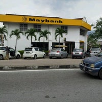Photo taken at Maybank by IzzYan Y. on 7/19/2012