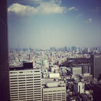 Photo taken at North Observatory, Tokyo Metropolitan Government Building by mkk on 4/5/2012