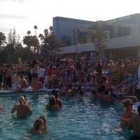 Photo taken at Wet Republic Ultra Pool by Brian G. on 3/10/2012