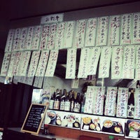 Photo taken at 武本 by Kazuto A. on 9/9/2012