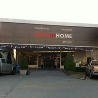 Photo taken at Grand Home Mart by Puensanit n. on 2/28/2012