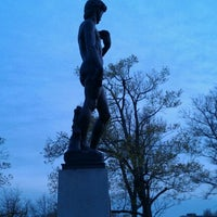 Photo taken at Statue of David by Jim C. on 4/25/2012